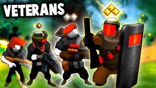 The BEST Way to Train VETERANS!  (Guns Up! PC Multiplayer Gameplay)