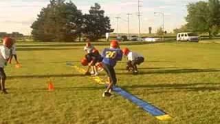 Bulldog Youth Football Practice