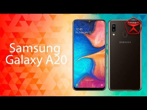 Samsung Galaxy A20, обзор / от Арстайл /