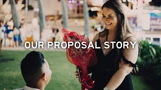 Our Surprise Proposal Story // Ferris Wheel Proposal