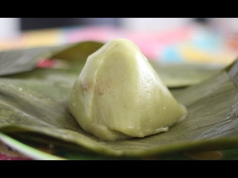 Sticky Rice Cake with Coconut (Banh It Nhan Dua)