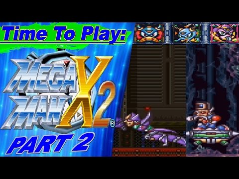Time To Play: MegaMan X2 part 2: 2 Times A Snails Pace