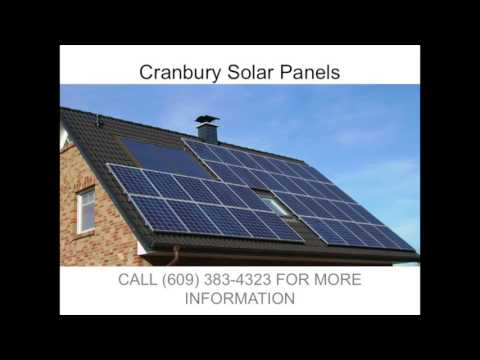 Solar Panels in Cranbury NJ   (609) 383-4323
