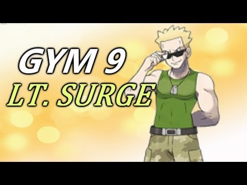 Pokemon Soul Silver Walkthrough Part 35 - LT. SURGE (Let's Play)