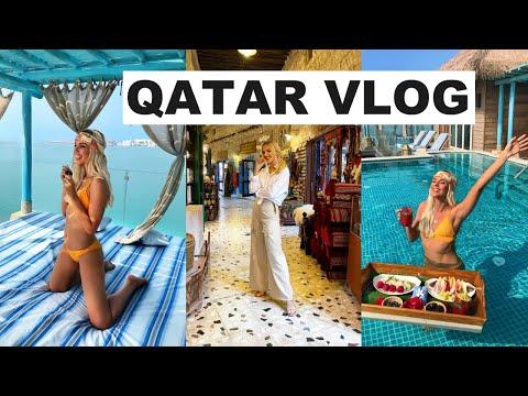 A LUXURY TRIP TO DOHA, QATAR | TRAVEL VLOG 2020