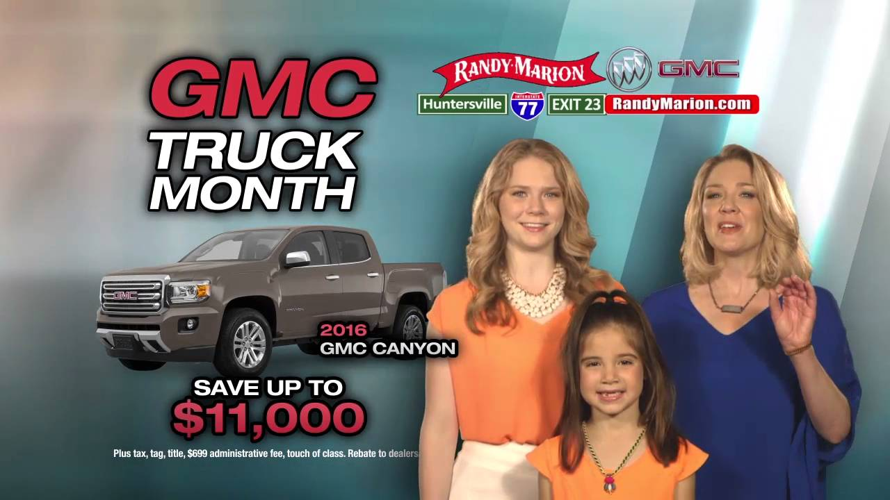 Randy Marion Gmc >> Gmc Truck Month At Randy Marion Buick Gmc In Huntersville Youtube