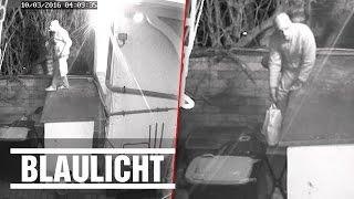 Polizei sucht Dieb - Von 5 Überwachungskameras gefilmt
