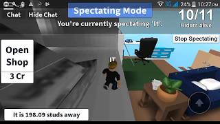 Ne može me niko naći!Roblox-Hide and Seek Extreme