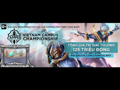 [08.05.2016] ĐH Hutech vs ĐH Yersin Đà Lạt  [Vietnam Campus Championship] [Bảng C]
