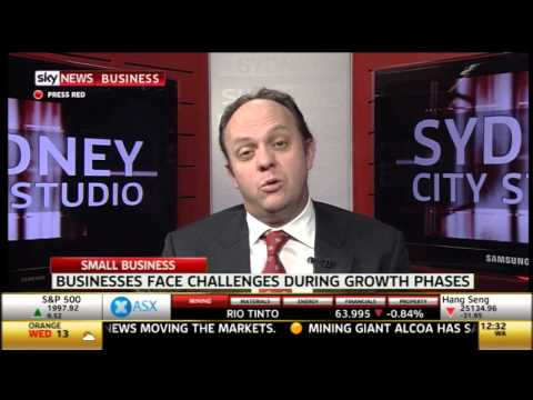 Brad Prout Interview  - First Class Capital -  Sky News Business - 26.8.14