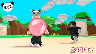 Sakız Şişirme Oyunu - Panda ile Roblox Bubble Gum Simulator