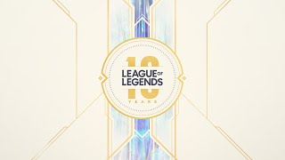 10 Year Anniversary Celebration Riot Pls 10th Anniversary Edition League Of Legends