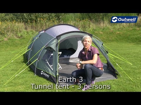 4 Berth Tunnel Tent Outwell Vigor 4 2018