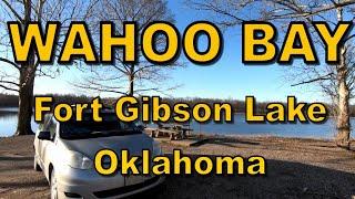 Free Camping - Waнoo Bay - Fort Gibson Lake - Oklahoma