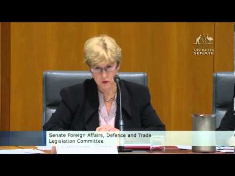 Christine Milne asks DFAT questions regarding Cambodia