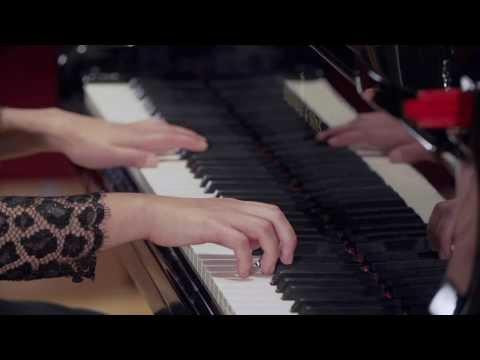 ' Three Miniatures' for 2 pianos No.1 by Dai Fujikura (2012)