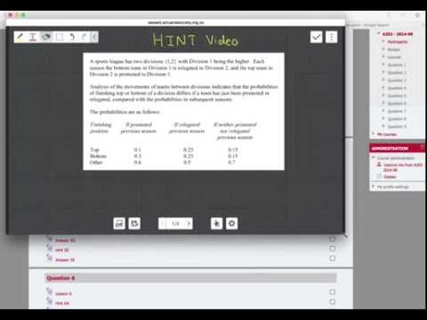Past Paper Video Solutions for CT6 and CT4 Actuarial Academy