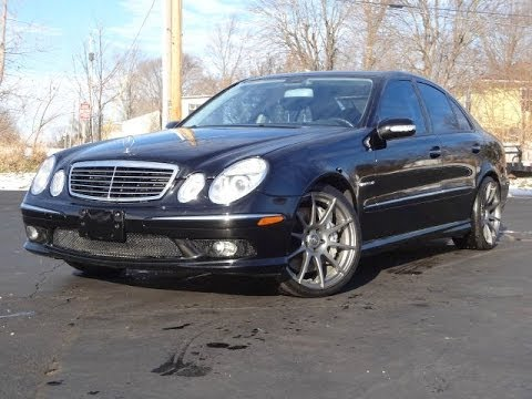 2003 Mercedes Benz E55 AMG SOLD!!! 500HP FAST!!! - YouTube