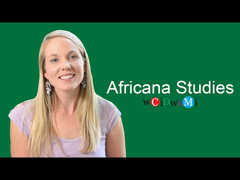 What Can You Do With A Major In - Africana Studies