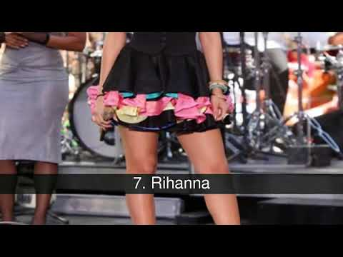 Las piernas más bellas de la música thumbnail