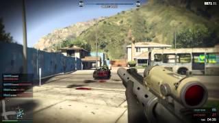 GTA 5 ONLINE - NUKETOWN GTA!!! / TEAM DEATHMATCH