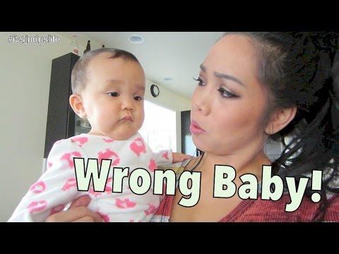 Uh Oh. Wrong Baby! - November 15, 2014 - itsJudysLife Daily Vlog