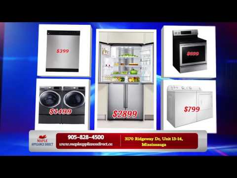 Maple Appliance Direct: Home Appliances Mississauga