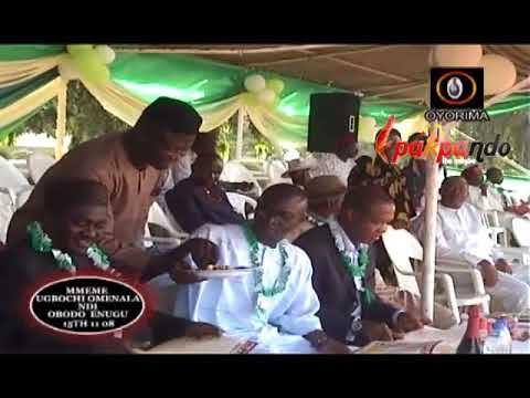 PEOPLE OF ENUGI STATE CELEBRATE THEIR CULTURE IN LAGOS