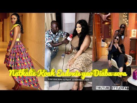 Eudoxie yao, diaba Sora, Nathalie Koah c'est a Dakar au senegal qui est bon à l'heure actuelle