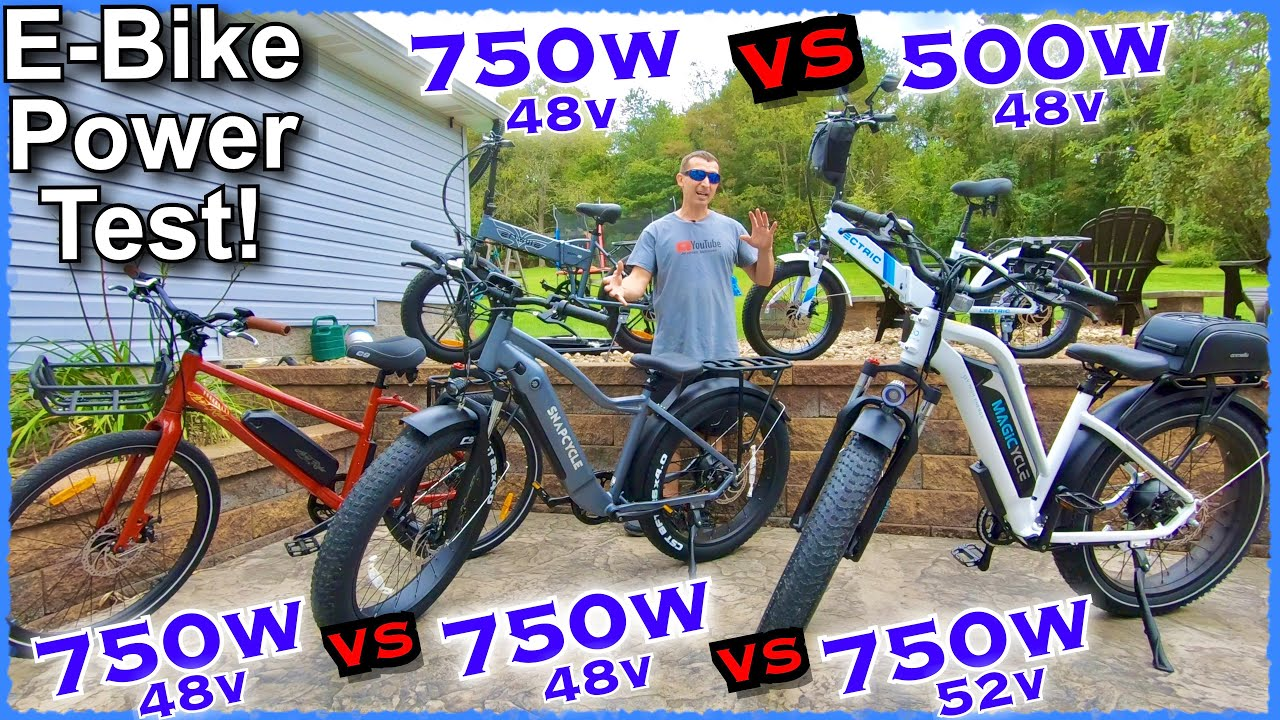 Download 750W E-Bike Head to Head Showdown~Which Electric Bike has the most Power? + Lectric 2.0