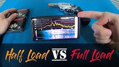 Half Load vs Full Load .380R Blank Gun Ammo Test.