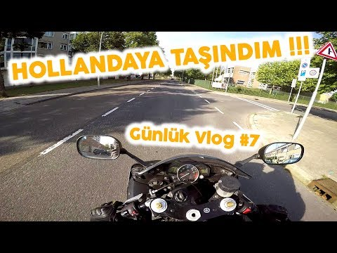 HOLLANDAYA TAŞINDIM - Günlük Vlog #7