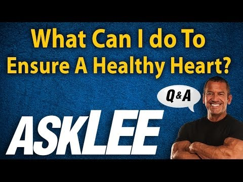 Heart Healthy Tips - With Lee Labrada