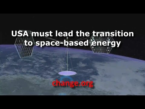 USA must lead the transition to space-based energy
