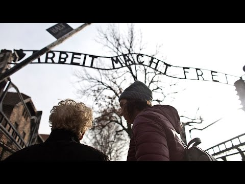 video: Auschwitz survivor travels back to former hell, 75 years on
