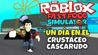 UN JOUR DANS LE BEAUTIFUL CRUSTOCE! ROBLOX: FAST FOOT SIMULATOR