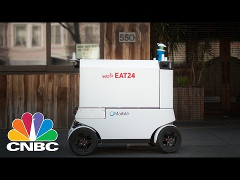 Yelp Eat24 And Marble Start Robot Food Delivery In San Francisco | CNBC