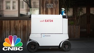 Reality TV series Yelp Eat24 And Marble Start Robot Food Delivery In San Francisco | CNBC