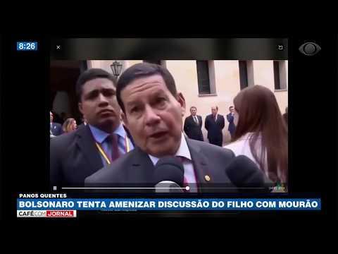 Carlos Bolsonaro ataca Hamilton Mourão no Twitter