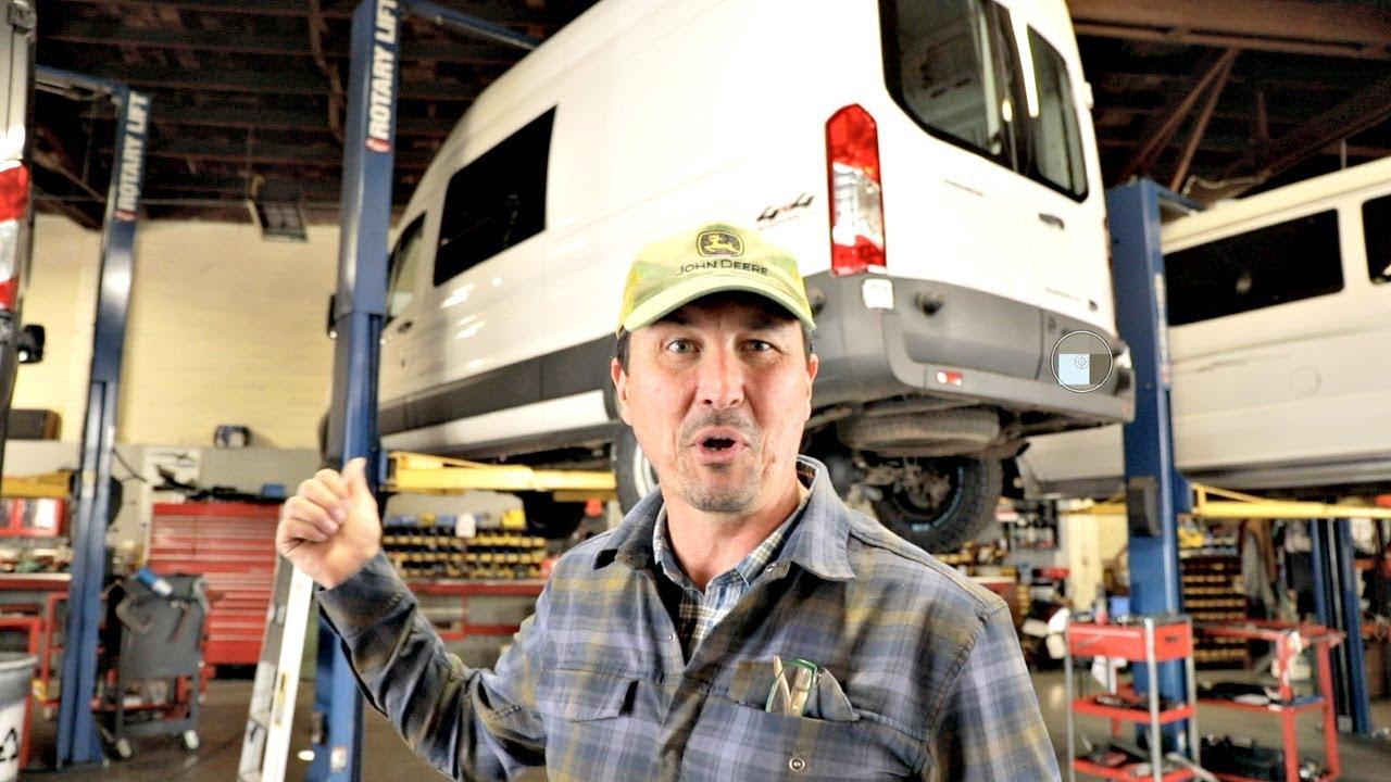 The 4X4 Transit Adventure Van Is Complete!!!