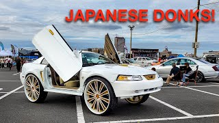 Going to Japan's CRAZIEST DONK Show in my Mercedes S600