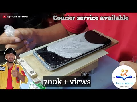 Samsung Galaxy S8 & S8 Plus Cracked Screen Repair (Front Glass Only)