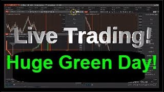 Market HUGE rally | LIVE Trading Futures 3-21-2019