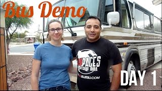 Bus Demo Day 1