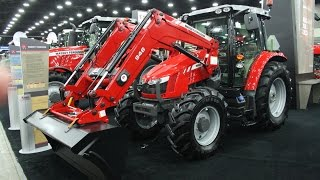 Massey Ferguson 5700 SL Series Tractor Intro at the 2016 National Farm Machinery Show
