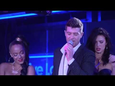 Robin Thicke - Blurred Lines in the Live Lounge