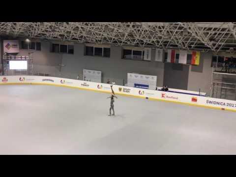 Luca Lucaroni & Rebecca Tarlazzi, World Games 2017, Artistic roller skating, Pairs - Long program