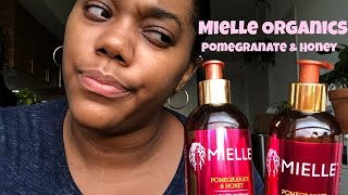 What's Tea? - New Mielle Organics Pomegranate & Honey Shampoo and Conditioner Product Review