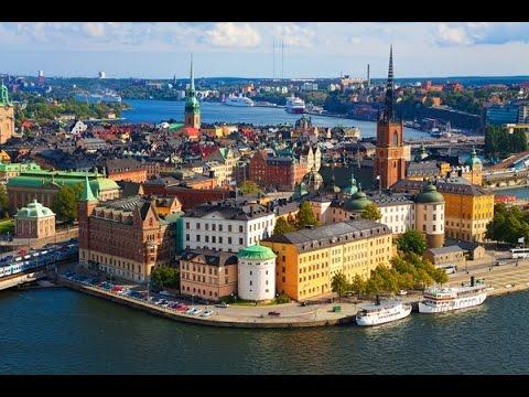 Stockholm City Tour , Suede (Ultra 4k)