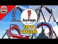 - Top 10 BEST Six Flags Great America Roller Coasters